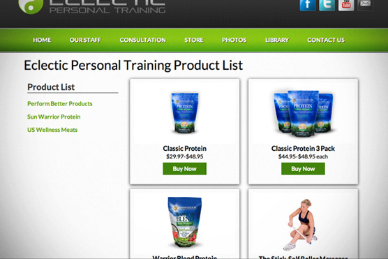 Eclectic Personal Training