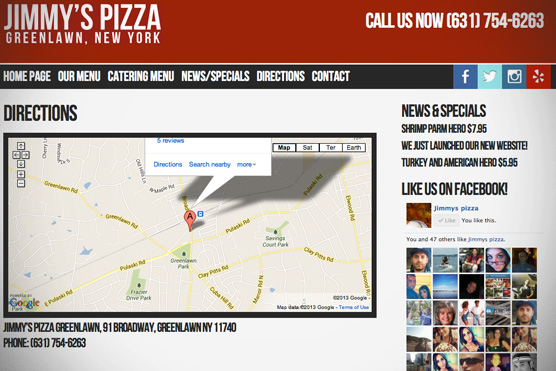 Jimmy's Pizza Of Greenlawn