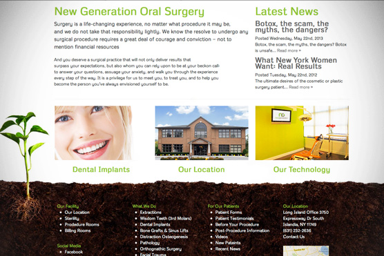 New Generation Oral Surgery