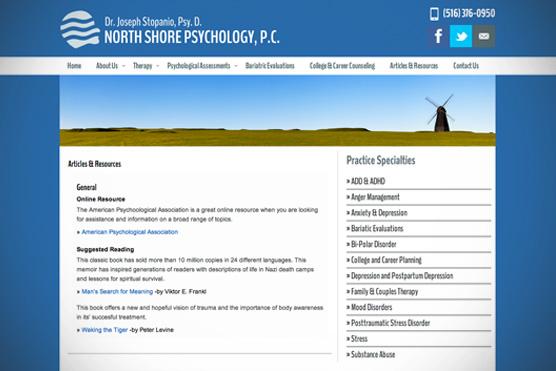 North Shore Psychology, P.C.