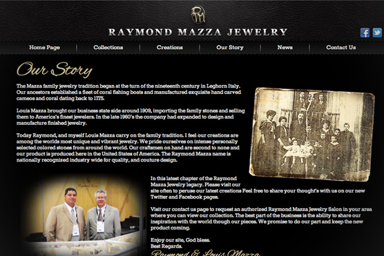 Raymond Mazza Jewelry