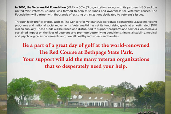 VeteransAid Golf Outing